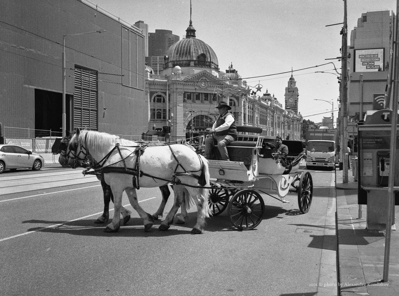 Federation Square/Swanston St Melbourne