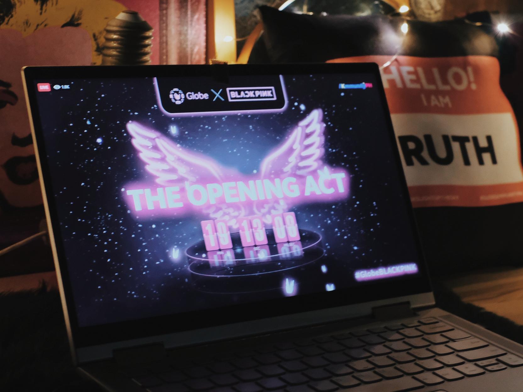 Watch #GlobeBlackPink Reinvented Concert Experience