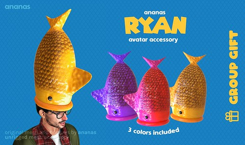 Ryan - he's cute, misunderstood, and has taken up residence in your head! 🐟