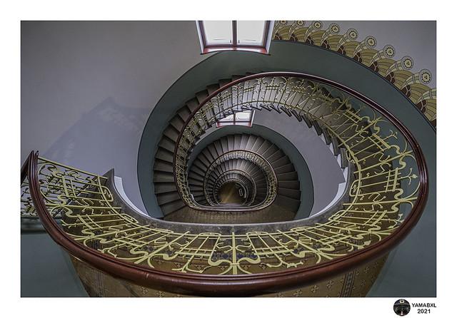 Art nouveau staircase