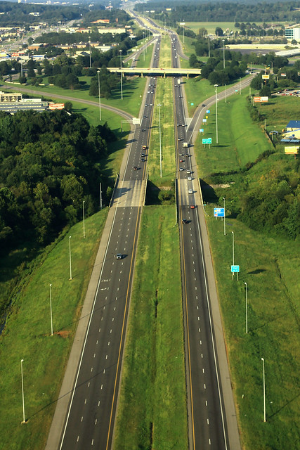 I-565 East Aerial - Exit 9 - Wall Triana