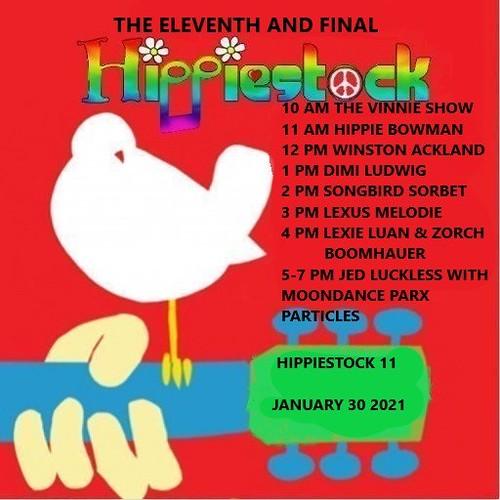 Hippiestock 11 Saturday Jan 30th