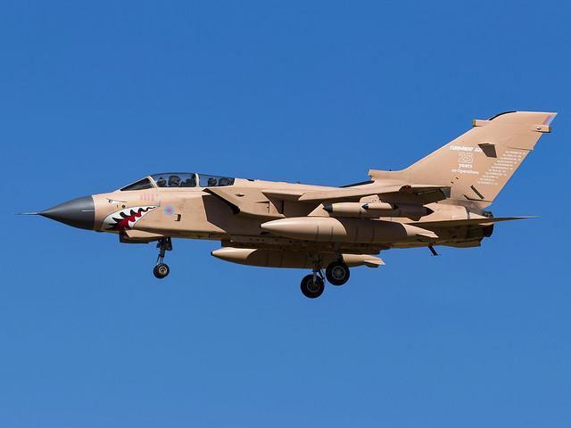 Royal Air Force | Panavia Tornado GR4 | ZG750