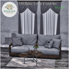 DD Birlea Lovers Couch Set-PG