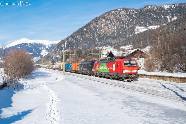 E 193.310 + E 193.703 - Freienfeld / Capo di Trens