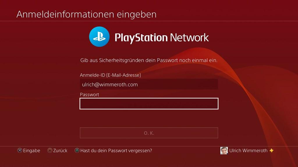Persönlichen Daten auf PS4 und PS5 absichern