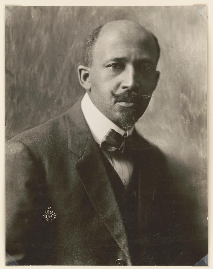 W.E.B. (William Edward Burghardt) Du Bois, 1868-1963 (LOC)