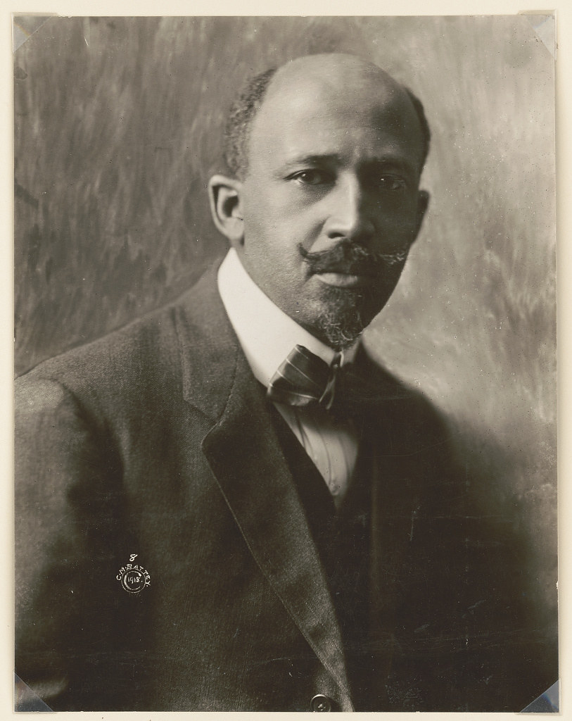 W.E.B. (William Edward Burghardt) Du Bois, 1868-1963 (LOC)