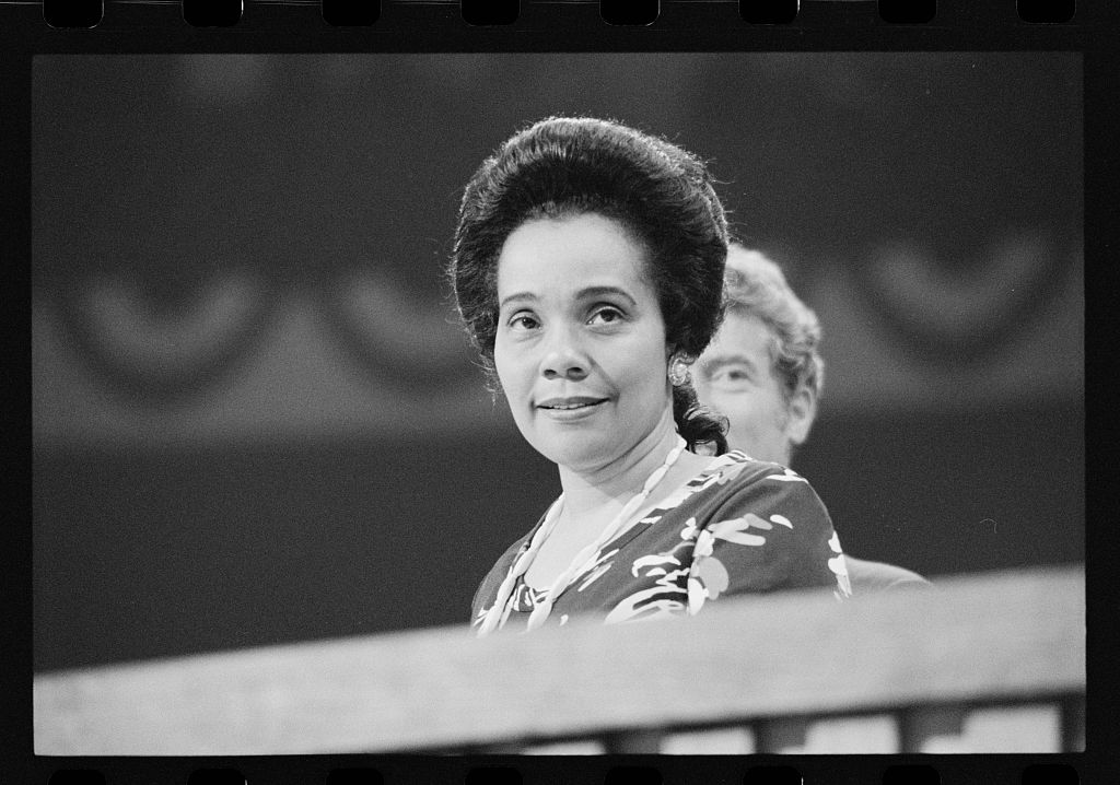 [Coretta Scott King at the Democratic National Convention, New York City] (LOC)