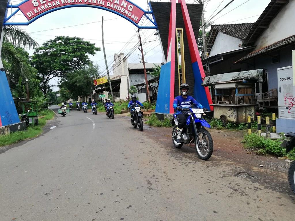 Akbar Taufan Terabasan Bareng Konsumen WR 155 R di Jepara