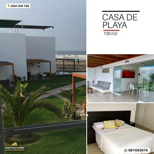 Casa de Playa en Asia del Sol