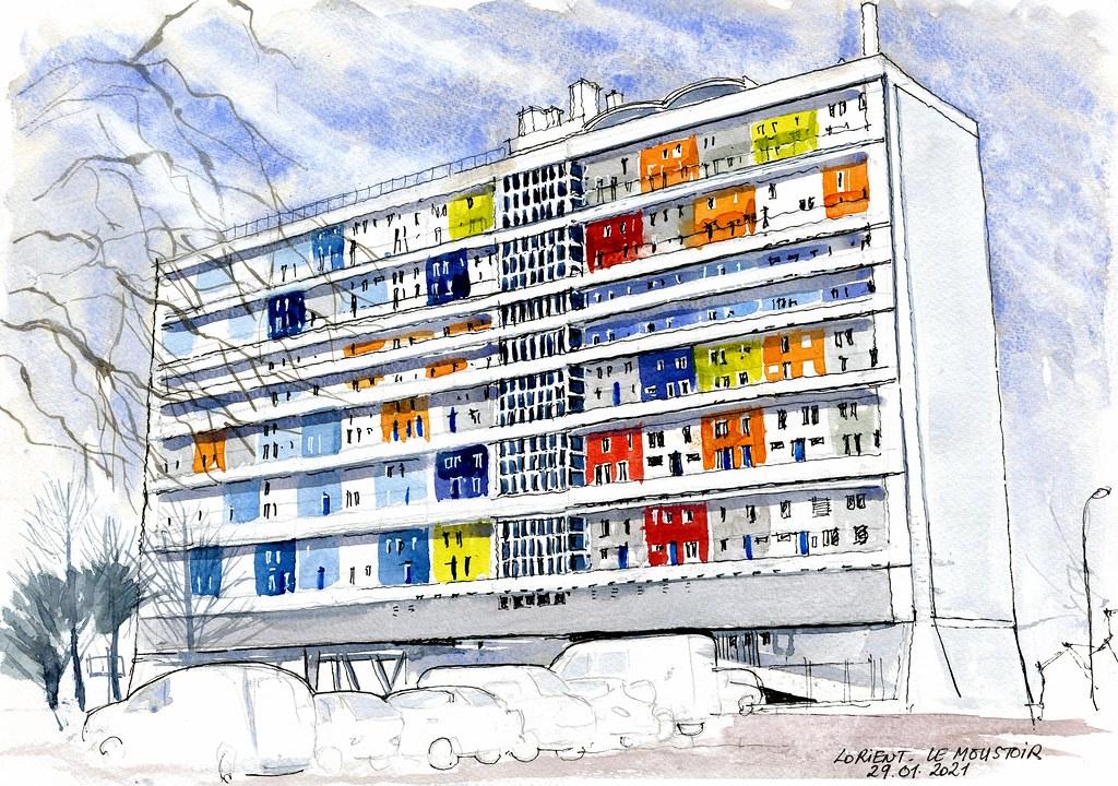 Lorient - Le Moustoir - 29 01 2021