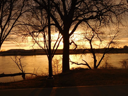 clouds weather sky scenic landscape travel elements explore tulsa oklahoma stream water fishing trees park photography peaceful relaxation sunset