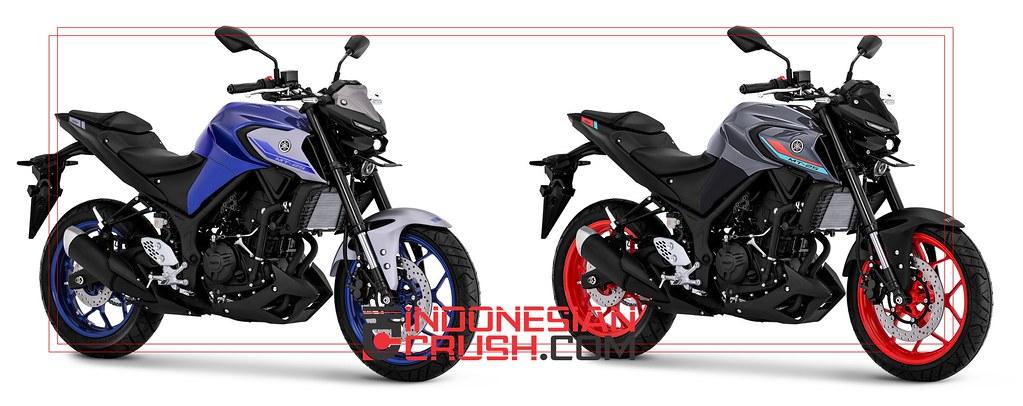 Yamaha MT-25 New Colour 2021