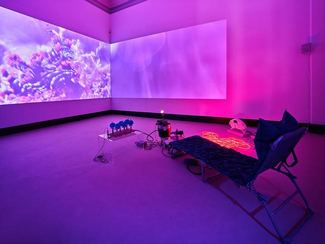 Anne Duk Hee Jordan, Atmospheres of Breathing, 2020, Installationsansicht Kunstpreis der Böttcherstraße in Bremen 2020, Kunsthalle Bremen