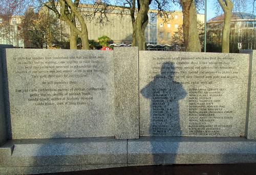 War Memorial Wall, Sunderland