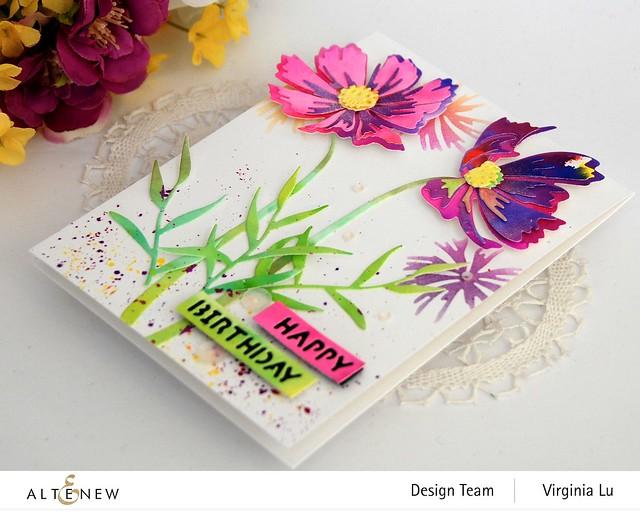 Altenew-CAF Cosmos-Essential Sentiment Strips Die Set-Artist Watercolor Markers Ultimate Bundle-002