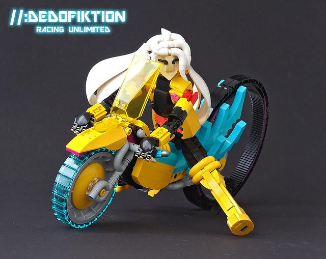 Dedofiktion Racing Unlimited Warpwheel Cryptobike