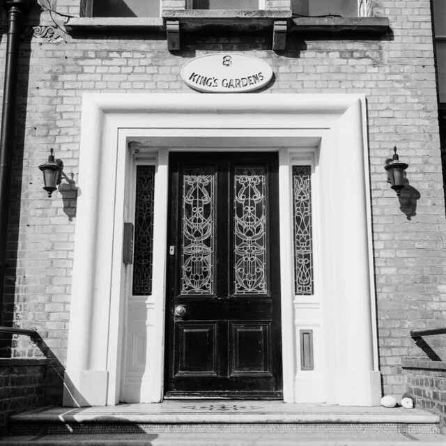 The front door of No. 8 - #tlrtuesday no. 152