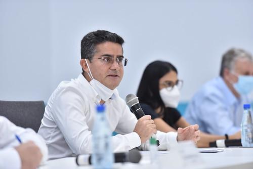29-012021 Prefeito David Almeida recebe 108 médicos enviados pelo Ministério da Saúde para reforçar combate à Covid-19