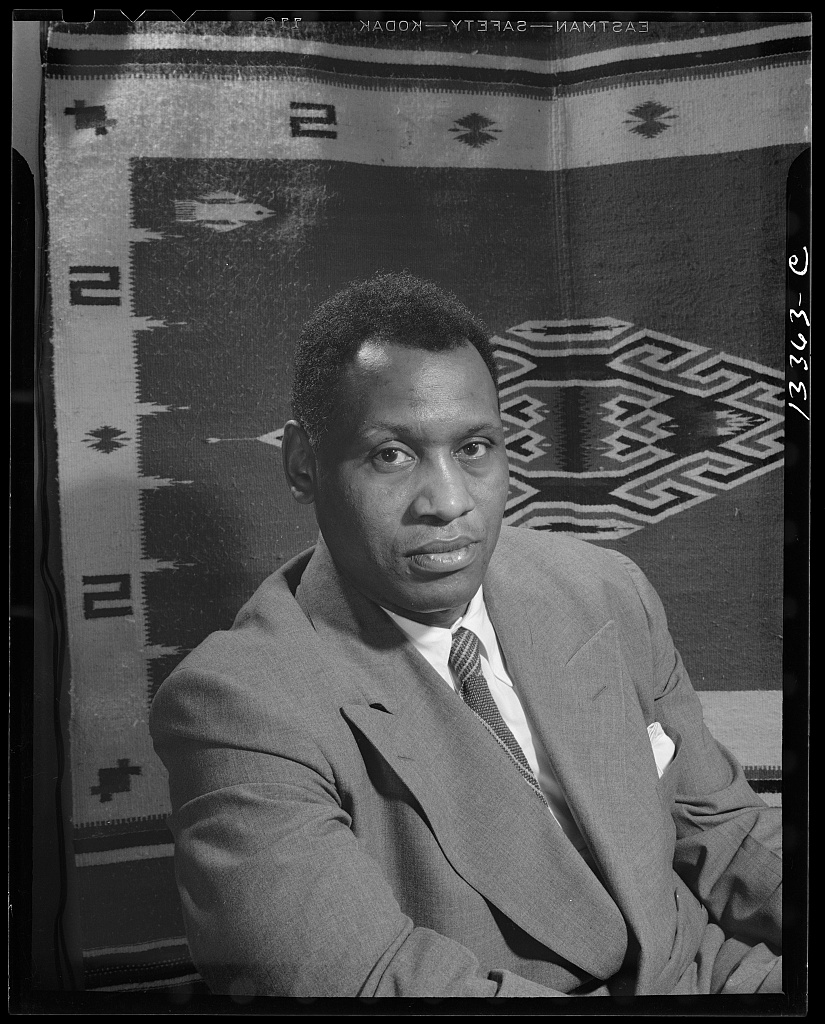 Washington, D.C. Paul Robeson, baritone (LOC)