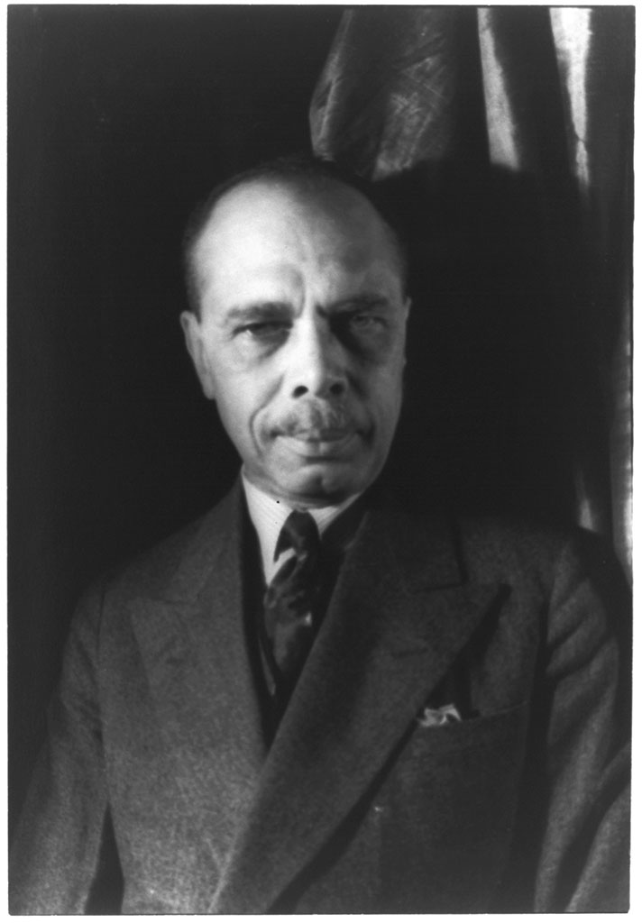[Portrait of James Weldon Johnson] (LOC)