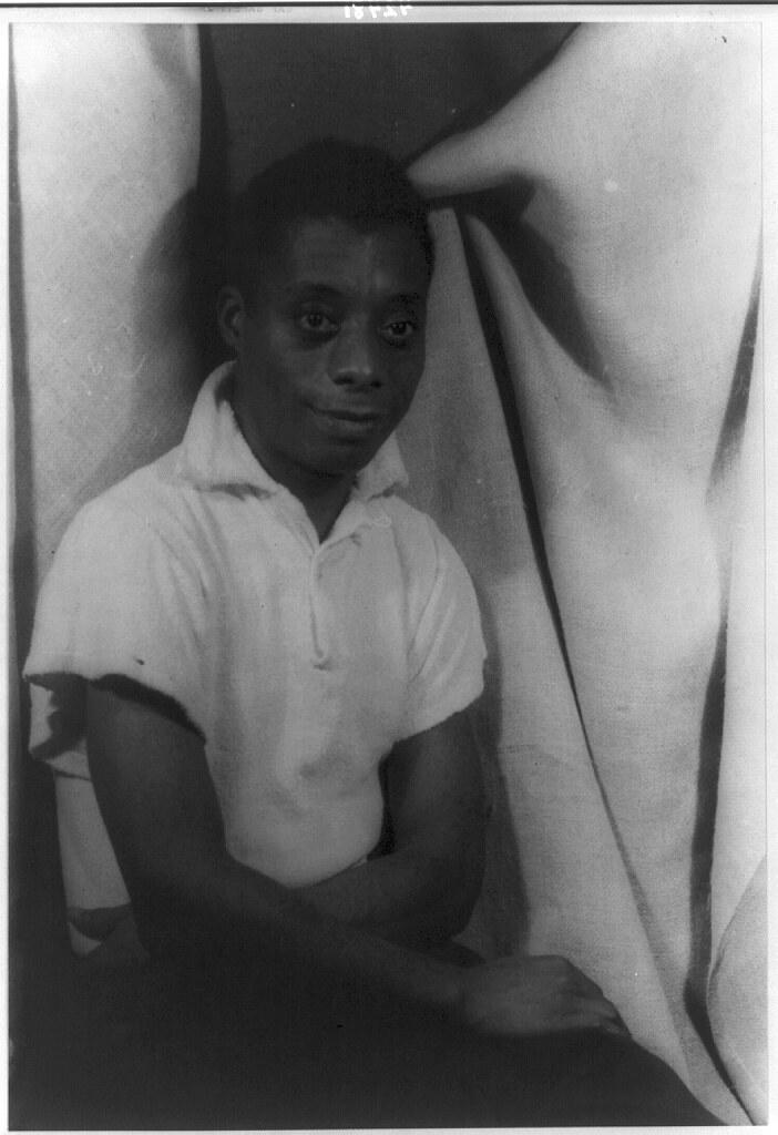 [Portrait of James Baldwin] (LOC)