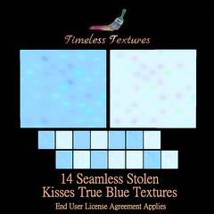 TT 14 Seamless Stolen Kisses True Blue Timeless Textures