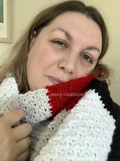 Color Block Scarf - ZVC | by Zavvy Creations