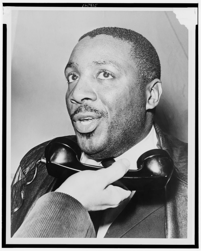 Dick Gregory interviewed on telephone (LOC)
