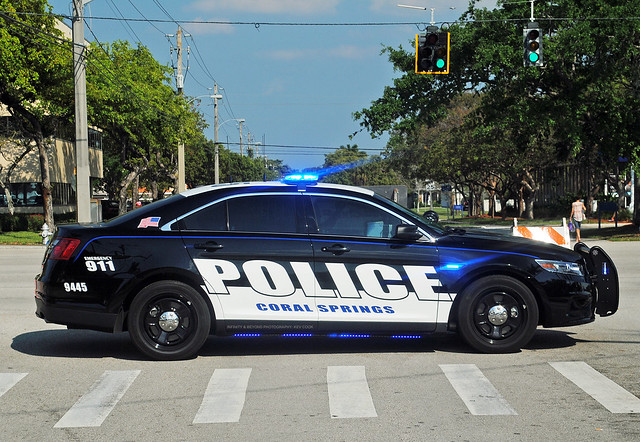 Coral Springs Police Ford Taurus
