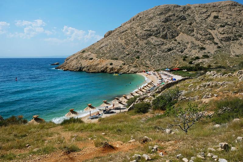 Oprna Bay, Krk, Croatia