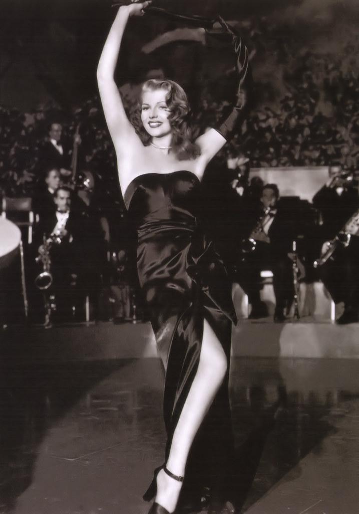 """Rita Hayworth en """"Gilda"""" (1946)"""