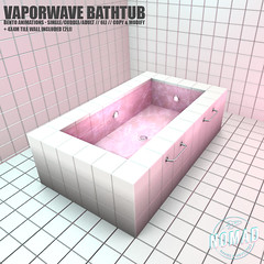 NOMAD // Vaporwave Bathtub @ KINKY Event