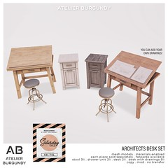 Atelier Burgundy . Architects Desk