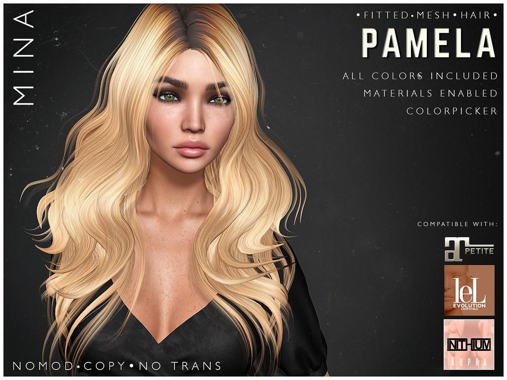 MINA Hair - Pamela - FaMESHed