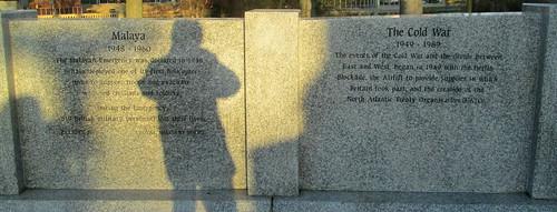 Malaya and Cold War Memorial Wall, Sunderland
