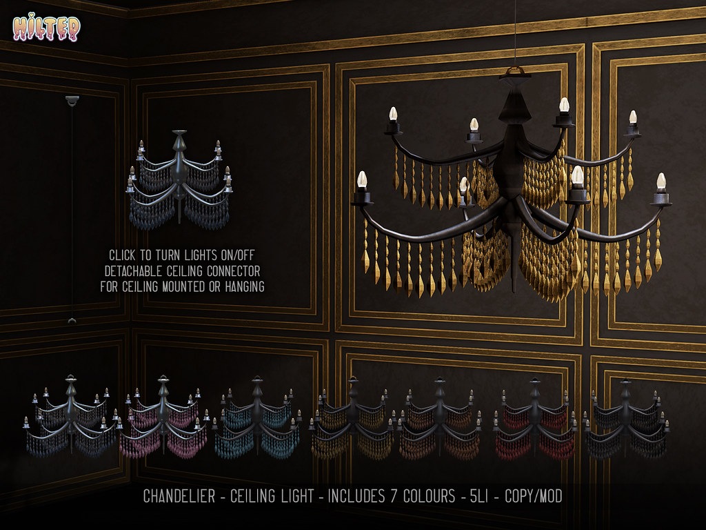 HILTED – Chandelier Pack