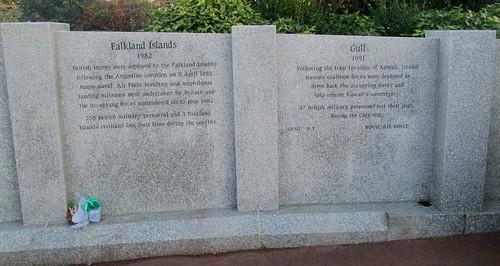 Falkland Islands, Gulf War, Memorial Wall, Sunderland