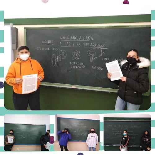 Día Paz Física y Química 2ESO