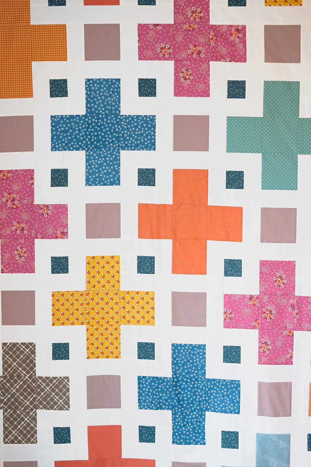 The Violet QAL - Quilt Top #1