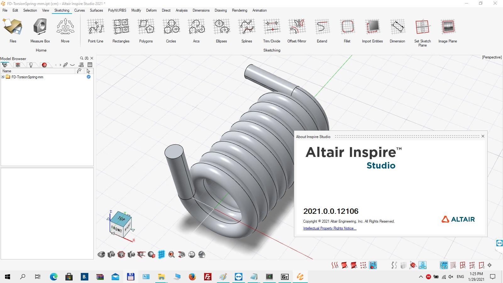Download Altair Inspire Studio 2021.0 Build 12106 Win64 full license