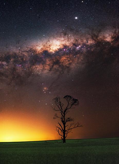 Milky Way at Dowerin, Western Australia