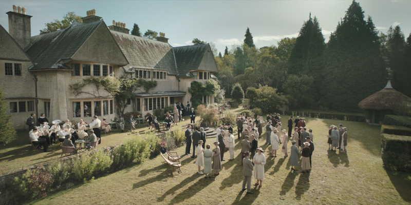 Norney Grange garden