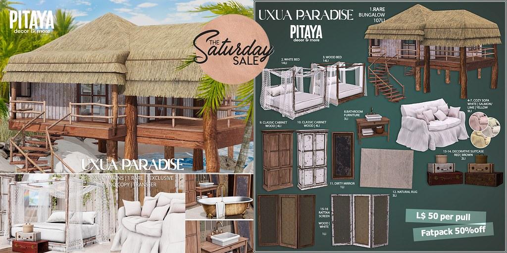 Pitaya – Uxua Paradise – special price for TSS!