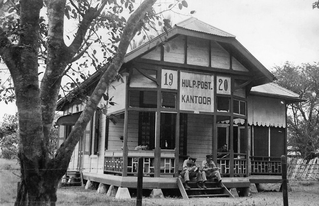 Post office Merauke, Netherlands New Guinea, 1943