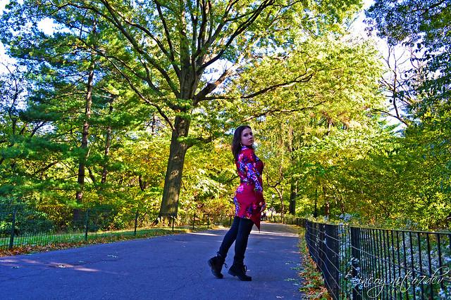 Me in Central Park near Belvedere Castle Manhattan New York City NY P00788 DSC_1365