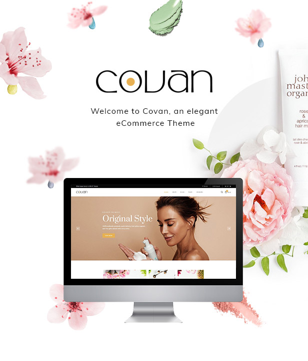 Covan Cosmetics Prestashop Theme 1.7.7.x