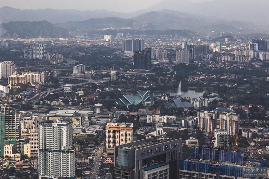 Куала-Лумпур смотровая Менара