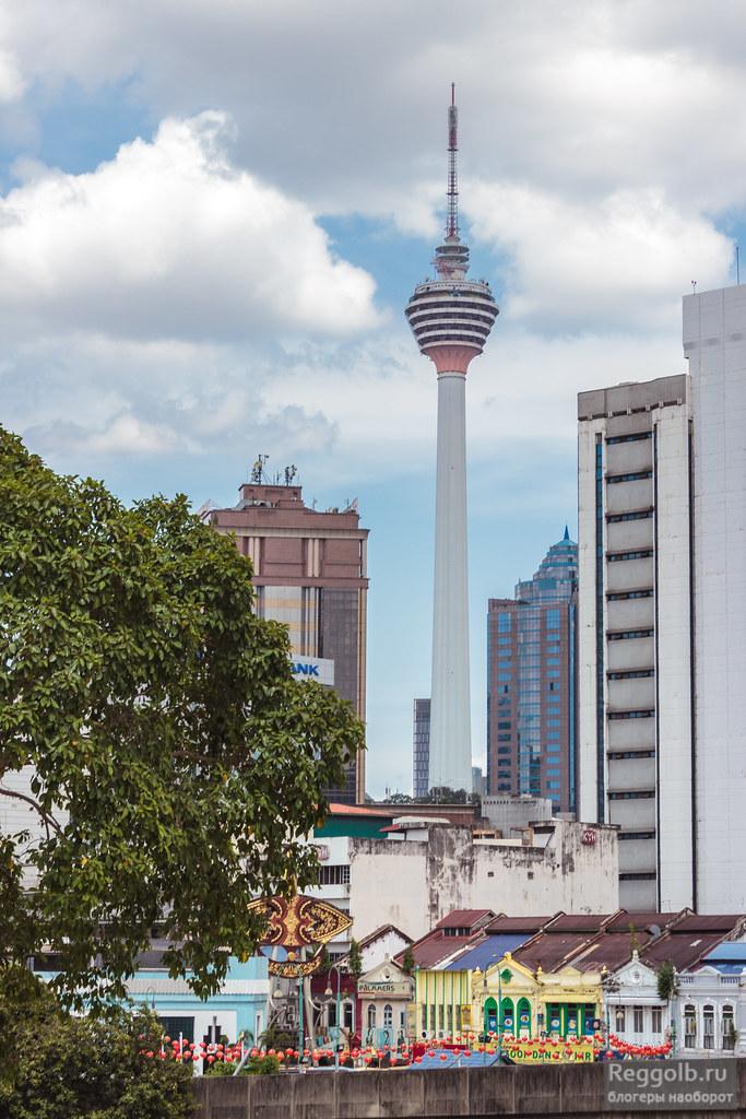 Башня Менара Куала-Лумпур